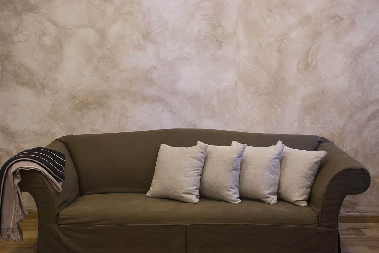 ספה וכריות