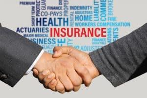 לחיצת יד ופירט סוגי ביטוחים