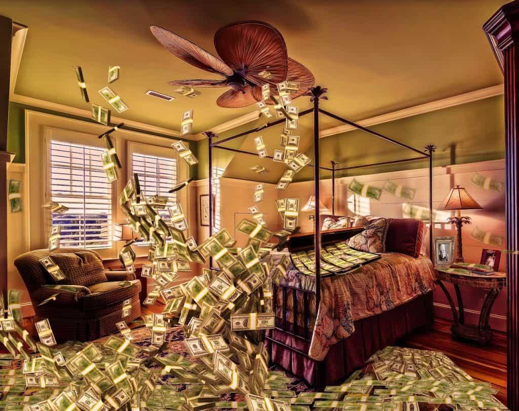 כסף באוויר