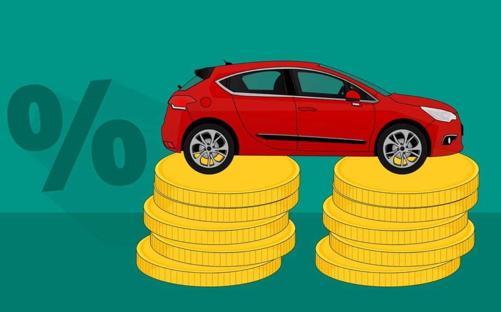 מכונית ומטבעות